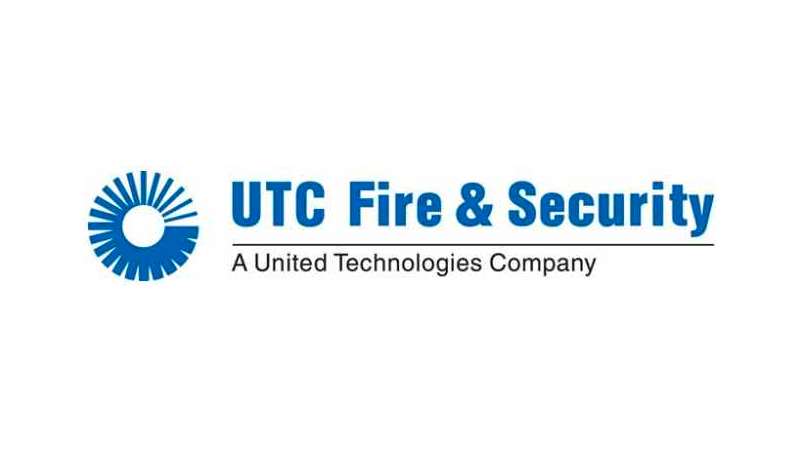 UTC Fire Security logo